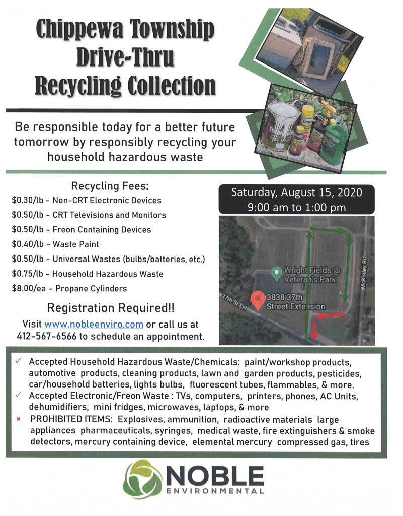 Household Hazardous Waste Collection Wright Fields REGISTRATION REQUIRED click here